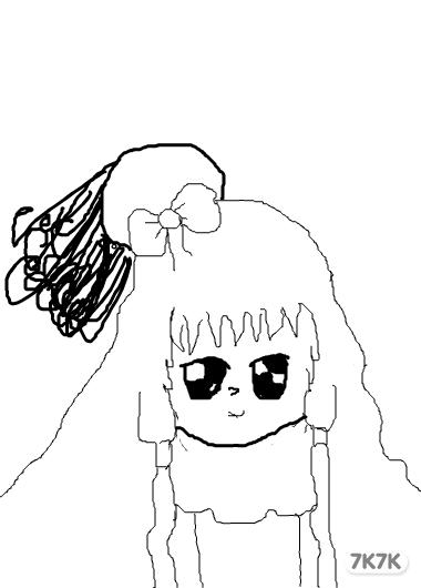 涂鸦馆-可爱小蝴蝶-手绘作品