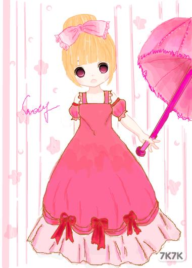 绘画过程   图片下载   公主,貌似觉得有点渣,希望大家喜欢吧