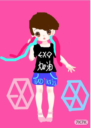 exo行星饭----krisyeol-exo