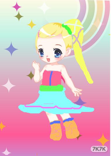 77777777789906-可爱小姑娘