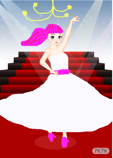 可爱小公主-第一条芭蕾舞婚纱