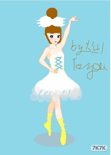 比知道-芭蕾女孩