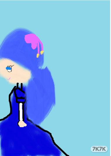 涂鸦馆-可爱公主-手绘作品