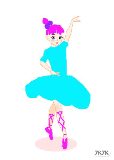 蝴蝶兰公主-芭蕾舞图片
