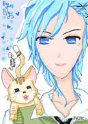 第一次鼠绘男生 ,算是我所有上色最好的一幅吧。(*^__^*)