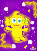 麦咭与魔法世界 【to:大荀荀 巫师<br />QAQ编编求精!麦咭好难画。。画了一下午;;