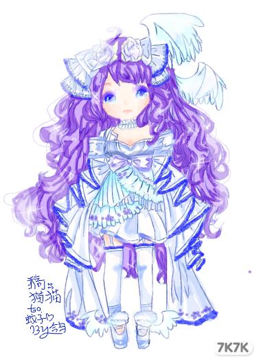 红娘小狐仙手绘