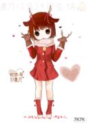 鹿乃女神12.24生快!by铱昔to鹿乃<br />画了2小时的说