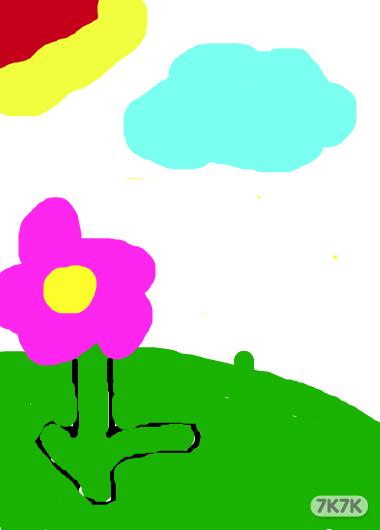 雪花画画步骤图解