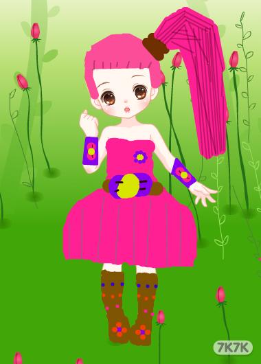冰心小公主-我知道自己画的不好,但我尽力了.