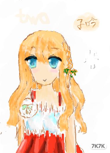 涂鸦馆-暮秋玩偶-手绘作品