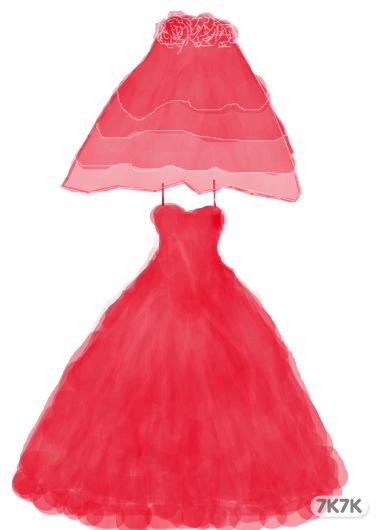 黑社会-为什么是红色的长裙?