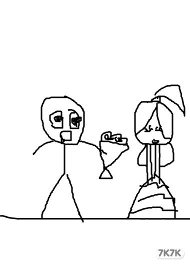 可爱小人铅笔画_铅笔画小人qq头像,经典小人爱情铅笔画图片; 简单铅笔