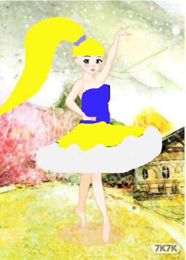 放飞梦想-爱跳舞的小女孩