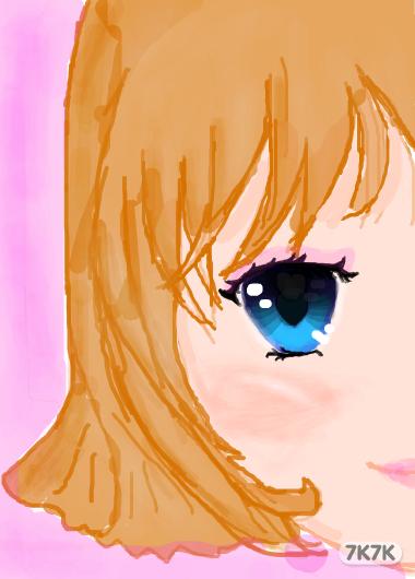 水玫瑰007-半边脸图片