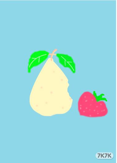 水果画图图片素材