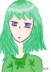 綠系少女(手抖)