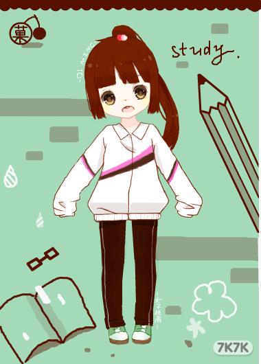 女生冬季校服设计图展示