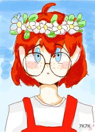 请记住这副眼镜,它可能不会再以圆形的方式出现在我的画里了【累死我了】<br />话说我每次画画都在寻找更能偷懒的画画方式【我好水a】