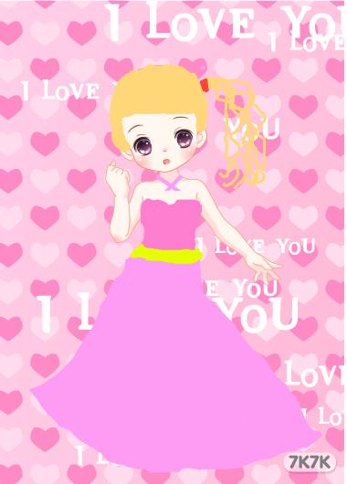 甜心公主-可爱女孩