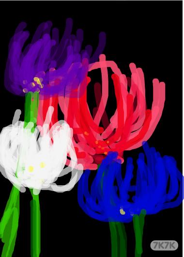 曼陀罗 手绘效果图