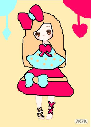 ○诺诺xiao天使○-可爱女孩