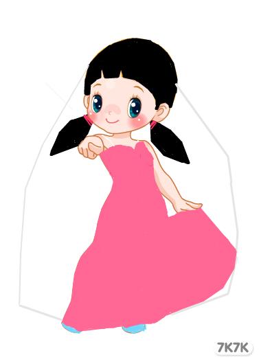 萤火灯-粉色的婚纱