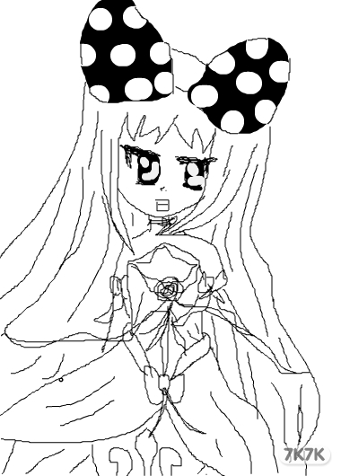画简单公主的步骤图片