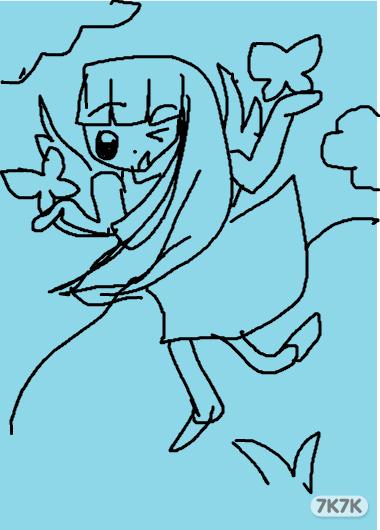 皇后卡通简笔画