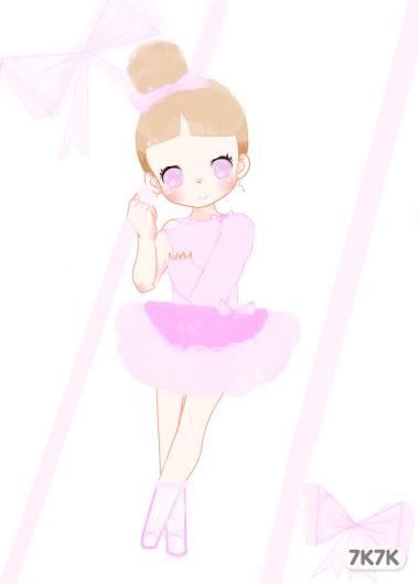 铃铛女-芭蕾蝴蝶结小女孩 br
