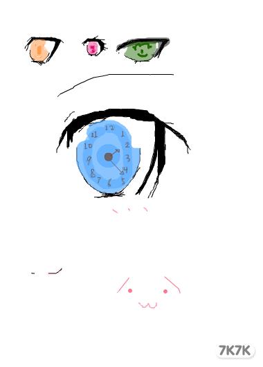 涂鸦馆-时崎狂三-手绘作品