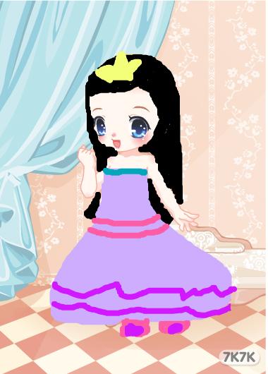 残月,花幽,泪-可爱小公主