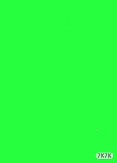爱心娃娃-绿色背景