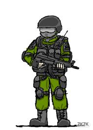 SWAT绿衣