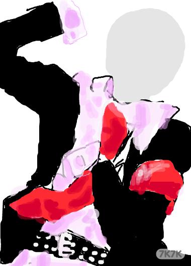涂鸦馆-烂渣渣的绘画梦想-手绘作品