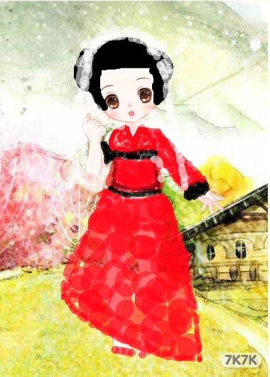 涂鸦馆-水玲珑-手绘作品