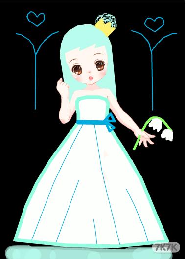 冰雪公主卡通画_冰雪公主三_冰雪公主背景