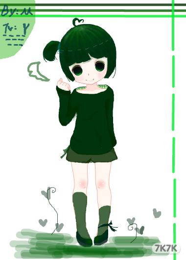 给y的森林系女孩