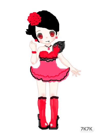 阿狸蛋糕-可爱的小恶魔