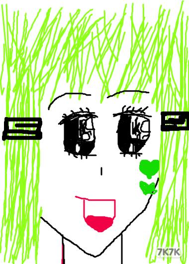 涂鸦馆-乐高女孩儿-手绘作品