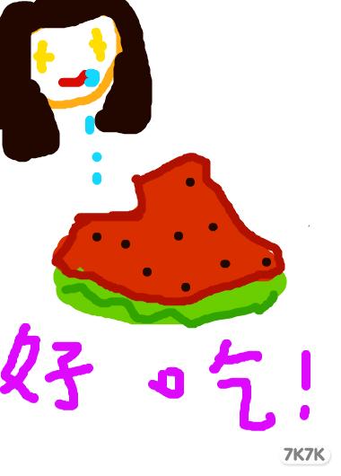 涂鸦馆-枯叶蝶-手绘作品