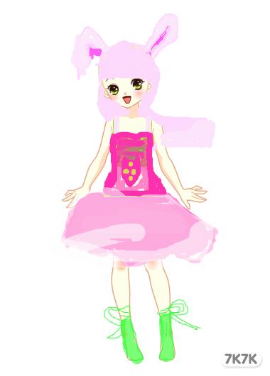 月咏歌呗-可爱小白兔