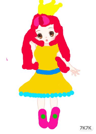 261339343-【可爱公主】,【美丽公主】.