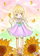 表示真的不会画向日葵 那些花瓣都要了我的命  招人了 卤蛋工作室 加Q993553689  参赛的