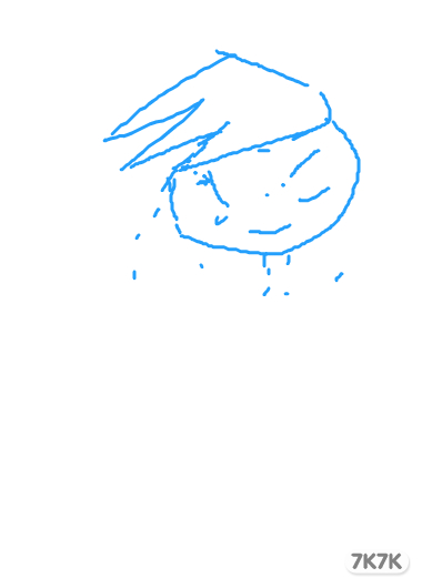 涂鸦馆 冰雪公主 手绘作品