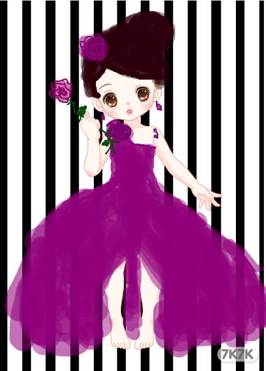 叮铛-樱纸【紫玫瑰】