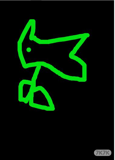豌豆创意手绘图案