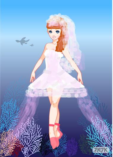 琳琳-芭蕾舞蹈女孩