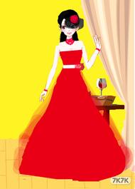 舞会上的公主