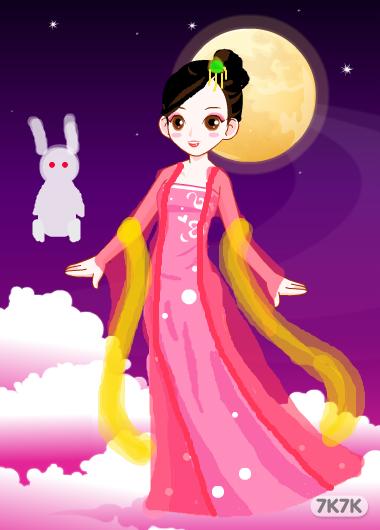 茜茜-嫦娥奔月